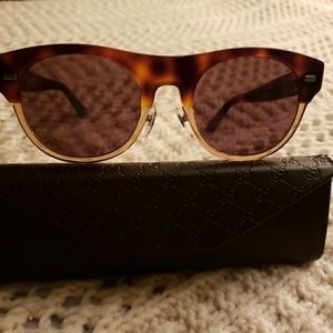 💞MEN'S GUCCI AUTHENTIC HAVANA BROWN SUNGLASSES 💞